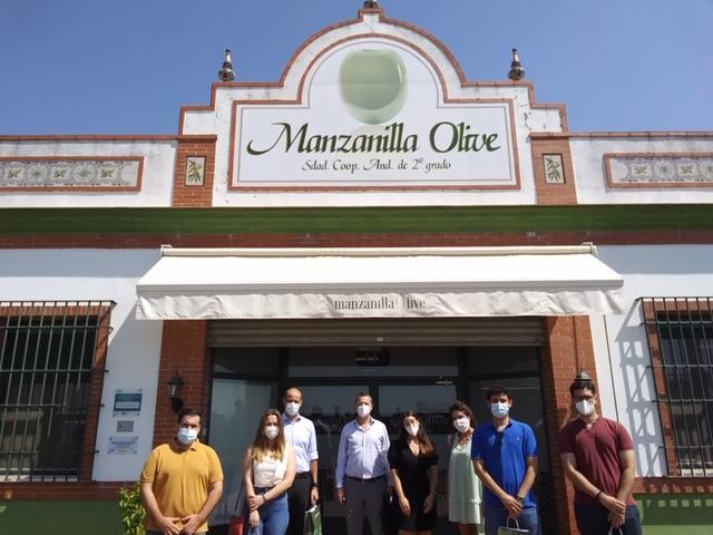 Visita de nuestros alumnos a Grupo Mazanilla Olive